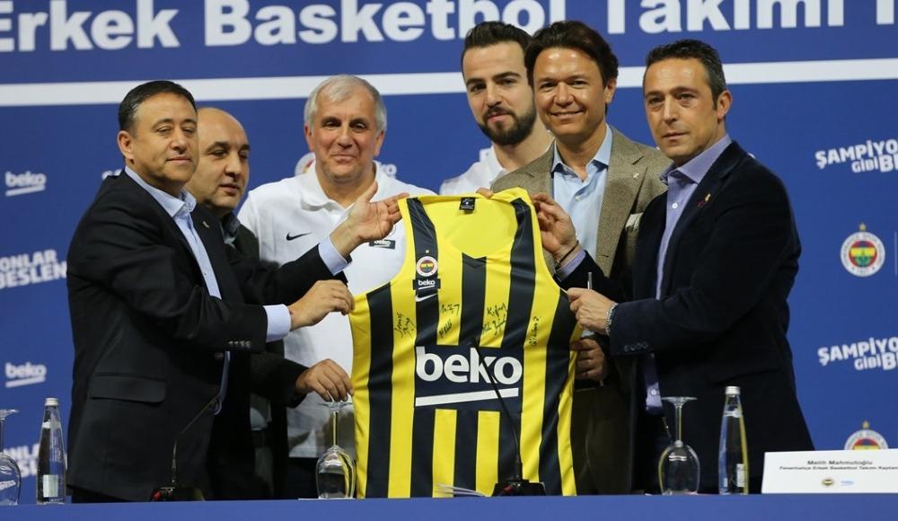 Fenerbahçe Erkek Basketbol Takımı'nın yeni sponsoru Beko oldu