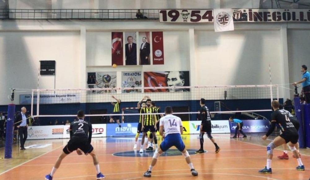Fenerbahçe deplasmanda İnegöl'ü mağlup etti