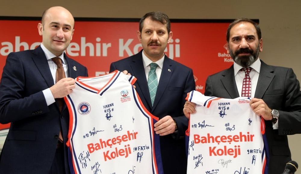 Sivasspor ve Bahçeşehir Koleji arasında sponsorluk anlaşması imzalandı!