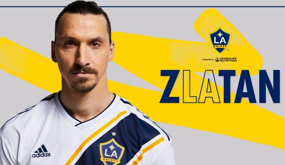 Zlatan Ibrahimovic yeniden LA Galaxy'de!