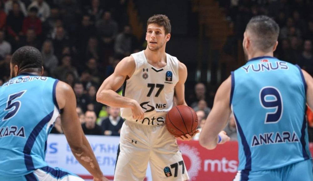 Türk Telekom, deplasmanda Partizan NIS'e 87-72 yenilerek elendi