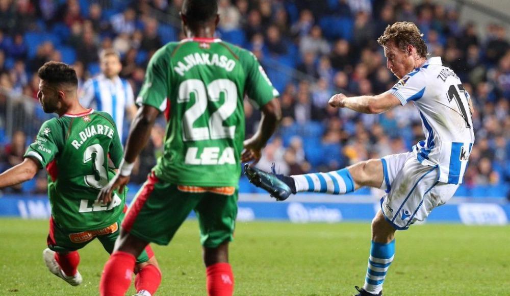 Alaves, Real Sociedad'ı tek golle geçti