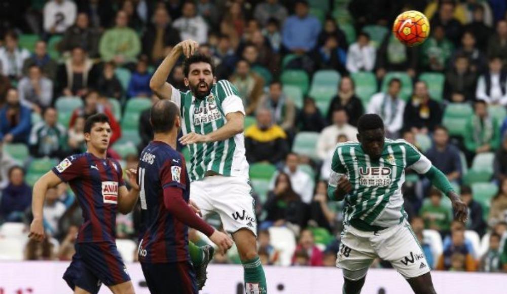 Betis-Eibar maçında kazanan çıkmadı!