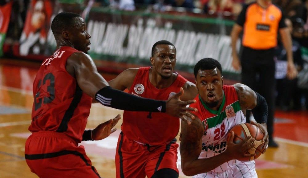 Pınar Karşıyaka, Gaziantep Basketbol'u mağlup etti
