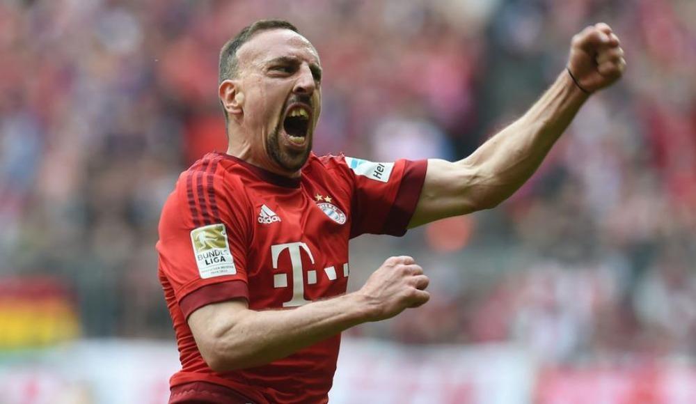 Ribery coştu, Bayern Münih 3 golle kazandı