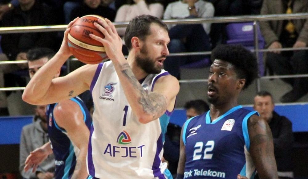 Türk Telekom, Afyon Belediyespor'u deplasmanda 79-77 yendi