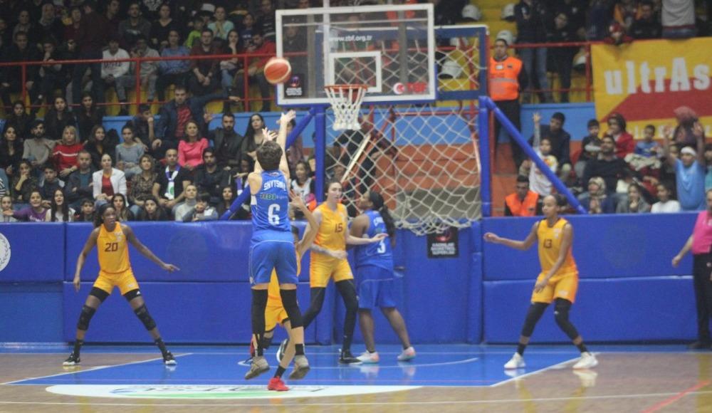 Hatay Büyükşehir Belediyespor, Galatasaray'ı rahat geçti