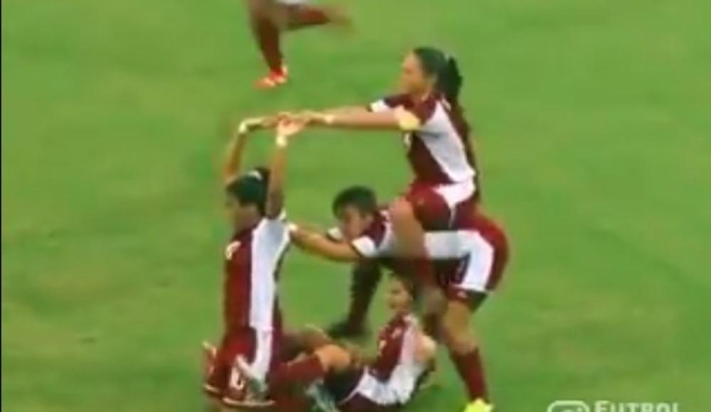 Video - Kadın futbolcular gol sevincini ne kadar abartabilir?