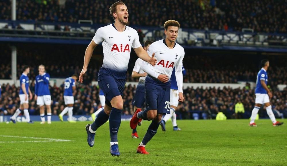 Özet - Tottenham gol oldu yağdı! Goodison Park'ta tarihi skor...