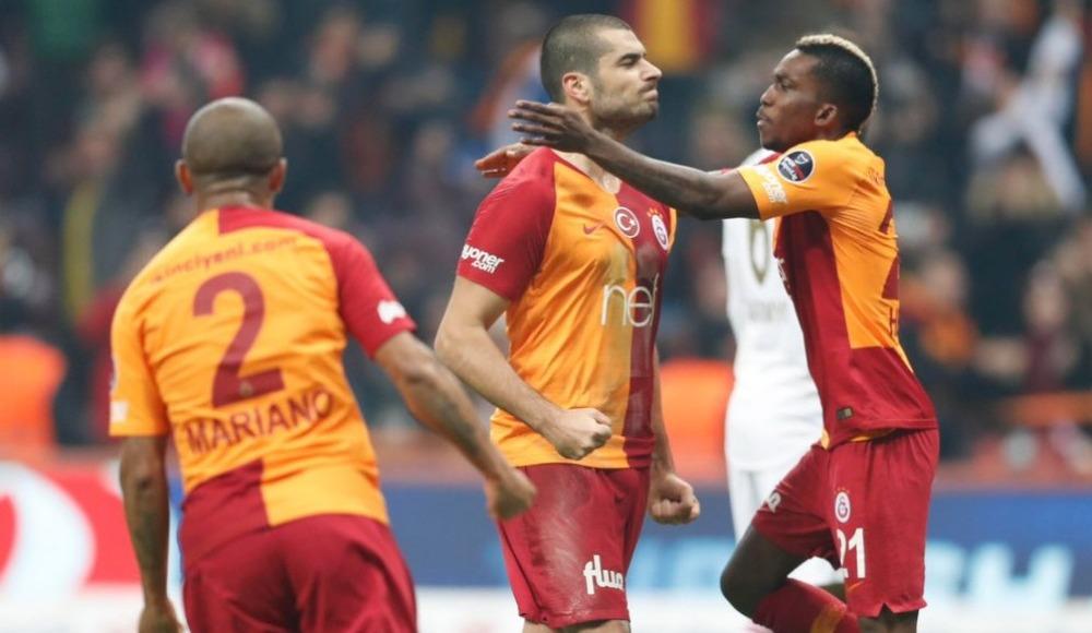 Galatasaray evinde yenilmiyor!