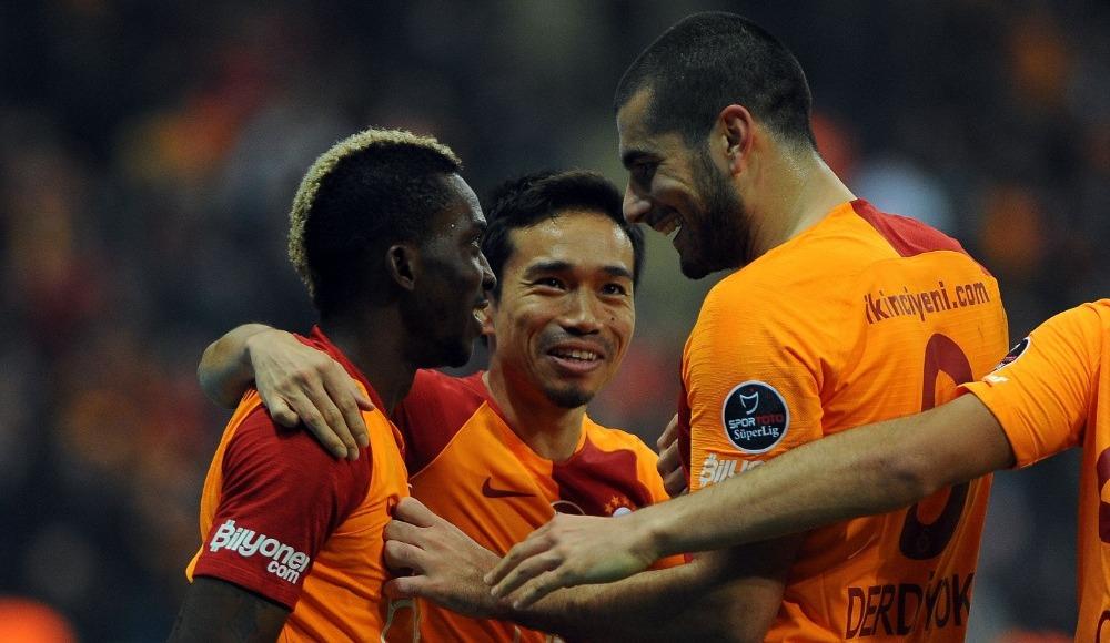 Galatasaray'ın evinde 4 maç sonra yüzü güldü