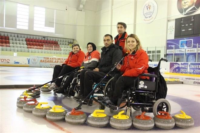 'Mutlu Çarşamba' projesi, engelli vatandaşların spordaki yeni umudu