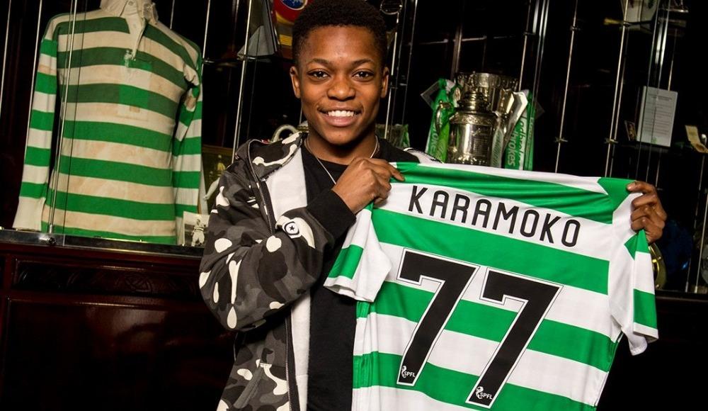 Celtic, Karamoko Dembele ile profesyonel sözleşme imzaladı!