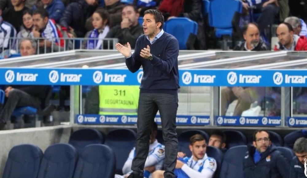 Real Sociedad'da teknik direktör değişikliği