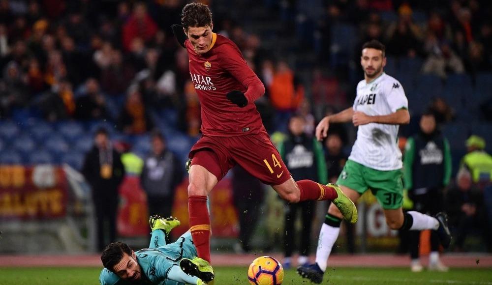 Cengiz Ünder'li Roma, Sassuolo'yu 3-1'le geçti