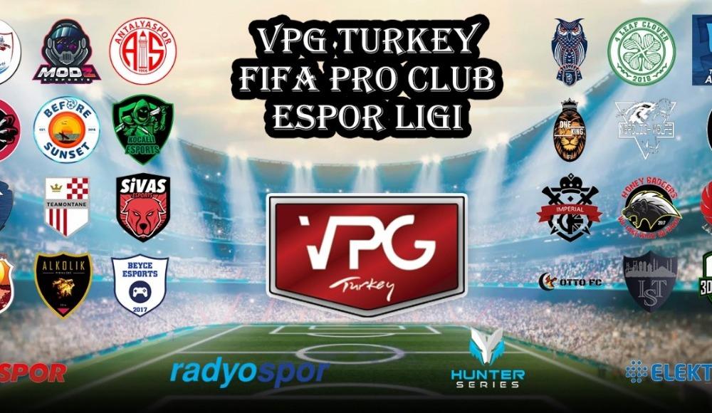 VPG Turkey FIFA PRO CLUB Espor Ligi'nde