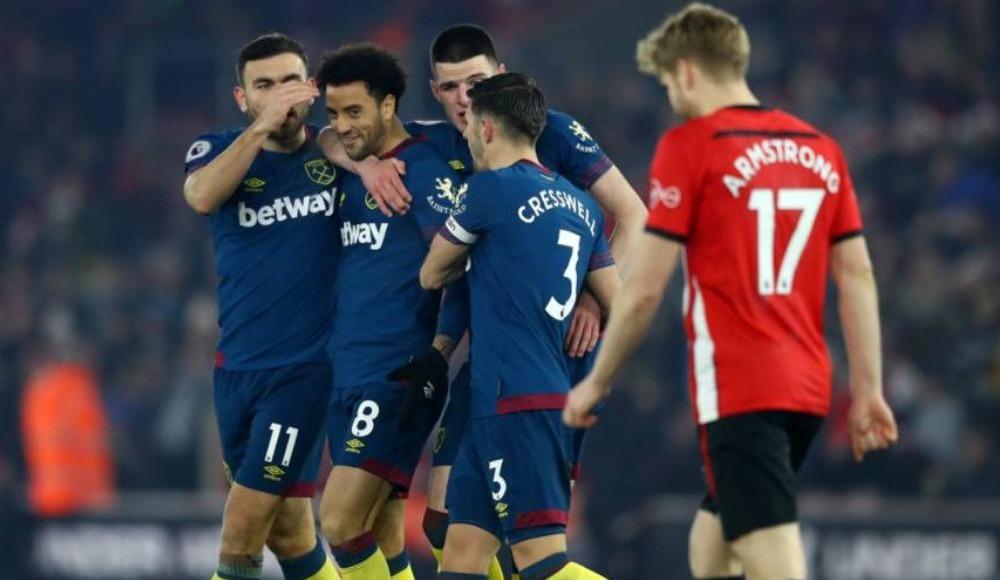Özet - West Ham, Southampton'ı Felipe Anderson'la geçti