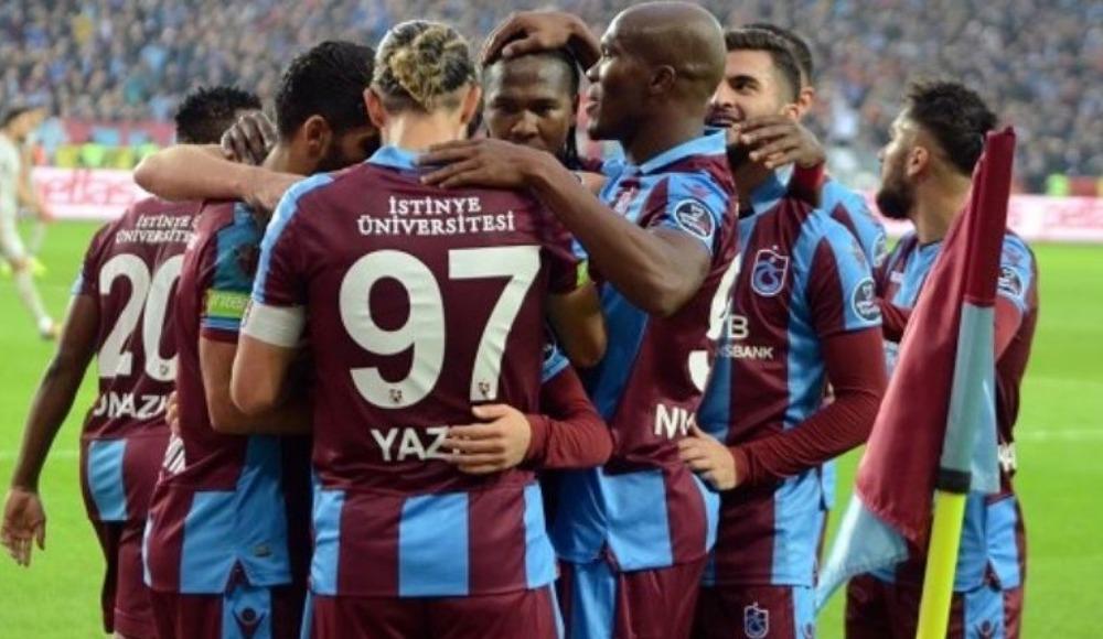 Trabzonspor'da 3 isim takımı sırtladı