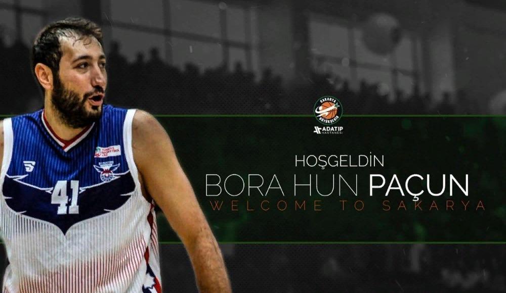 Bora Hun Paçun, Adatıp Sakarya Büyükşehir Belediye Basketbol'da