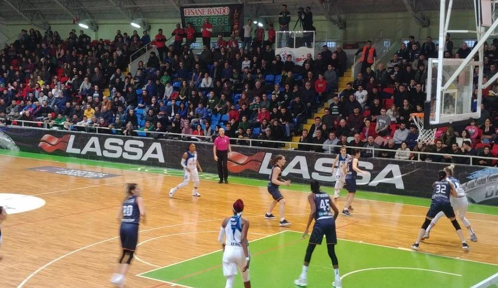 Çukurova Basketbol, deplasmanda İzmit Belediyespor'u 87-65 yendi