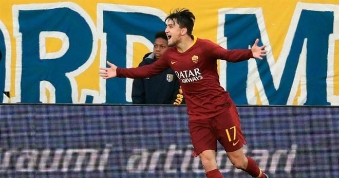 Roma'dan yılın en iyi genç oyuncusu Cengiz Ünder