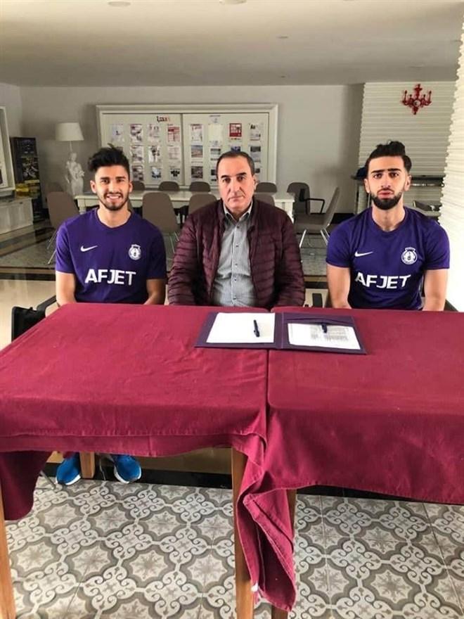 Afjet Afyonspor'dan 2 transfer daha