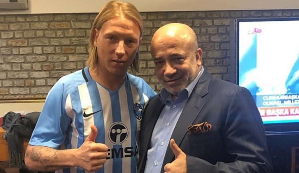 Adana Demirspor, Jonathan Legear'ı kadrosuna kattı.