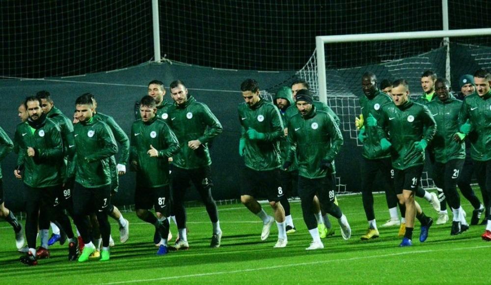 Atiker Konyaspor, Antalya kampına start verdi