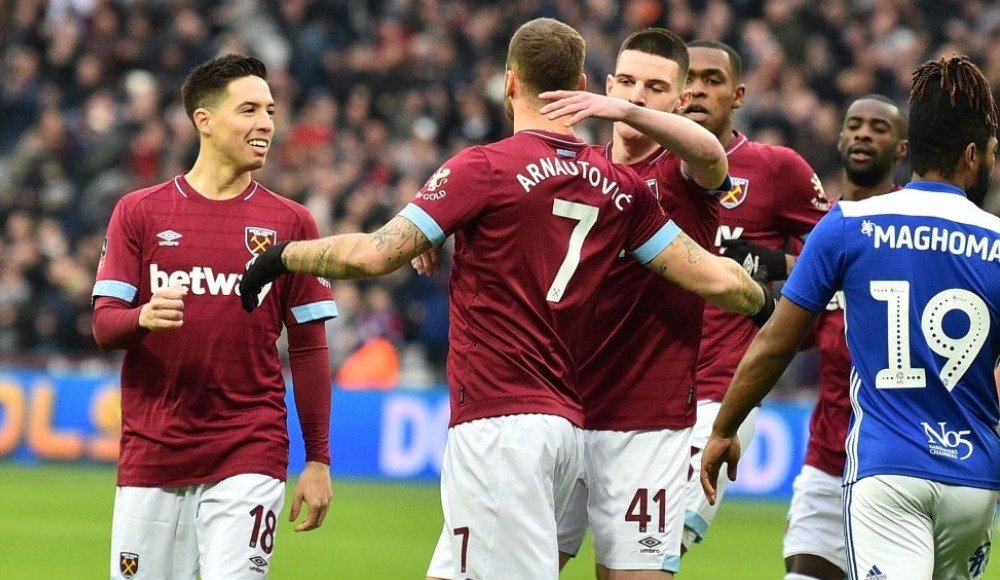 Nasri maçın adamı seçildi, West Ham turladı!