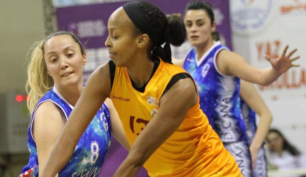 Galatasaray, sahasında Canik Belediyespor'u 91-68 mağlup etti