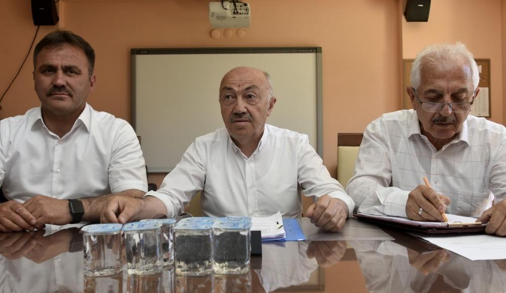 Gümüşhanespor Kulübü Başkanı Kurban Karagöz istifa etti