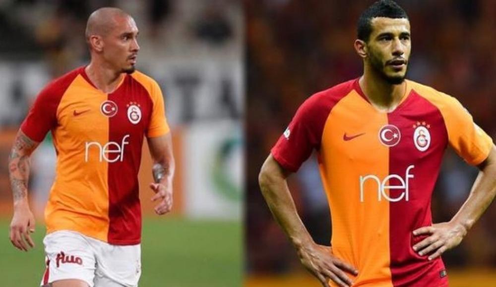 Galatasaray'dan Maicon ve Belhanda kararı!