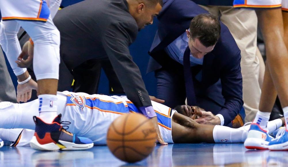 NBA'de korkutan sakatlık: 'Gözlerini açık tut'