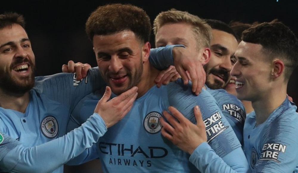 Manchester City, Lig Kupası'nda Burton Albion'u gole boğdu! 9-0
