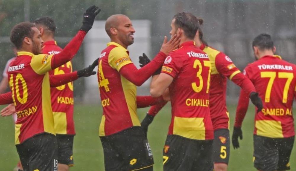Göztepe hazırlık maçında şov yaptı: 6-3