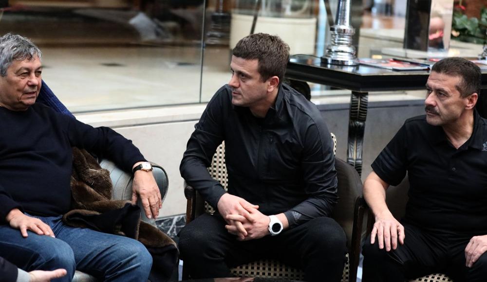 Lucescu'dan teknik direktör Hakan Keleş'e ziyaret