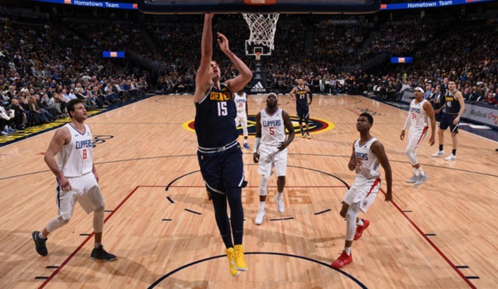 Denver Nuggets evinde yenilmiyor! Clippers'ı farklı geçti...