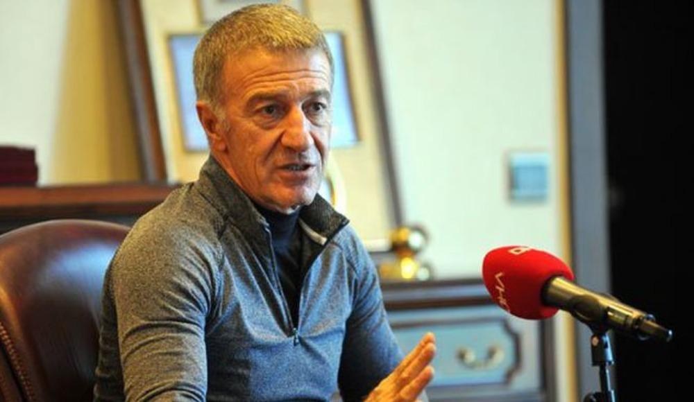 """Ağaoğlu: """"6 milyon Euro'ya oyuncu alırsınız ama..."""""""