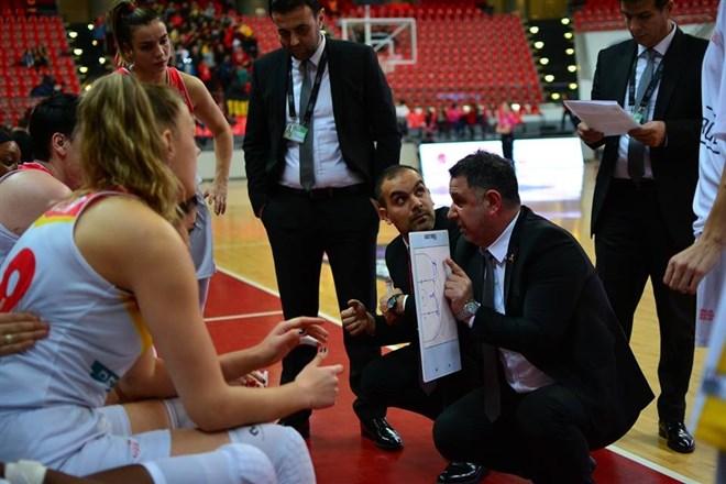 Bellona Kayseri Basketbol  Mersin'de