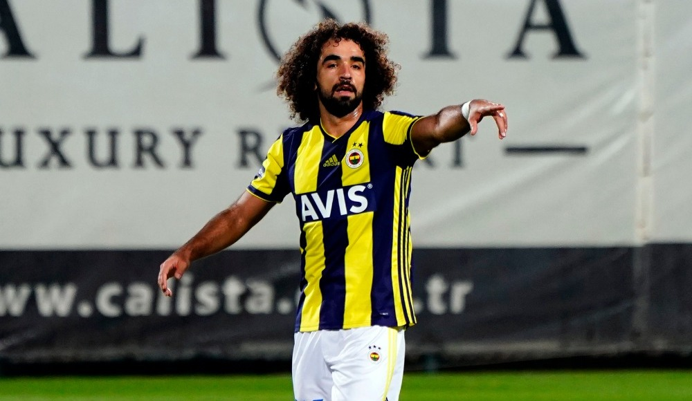 Sadık Çiftpınar, Fenerbahçe formasını ilk kez giydi