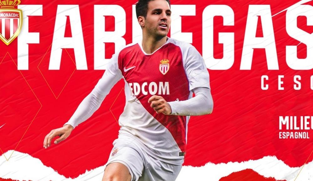 Monaco, Fabregas transferini resmen açıkladı!