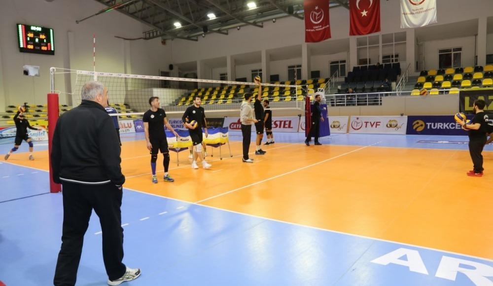 Arhavi Belediyespor, İstanbul Büyükşehir Belediyespor'u mağlup etti