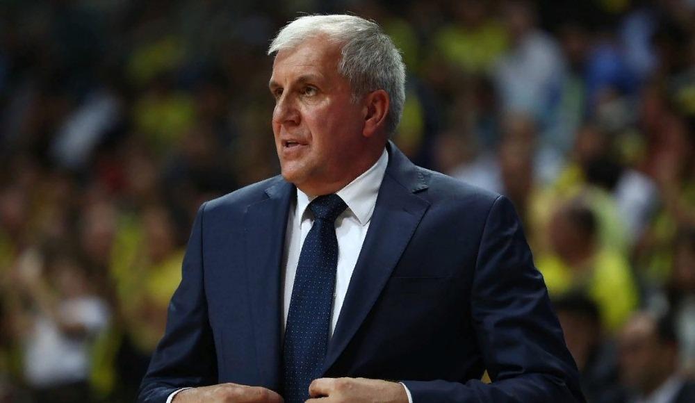 """Zeljko Obradovic: """"Çok ciddi ve iyi oynadık"""""""