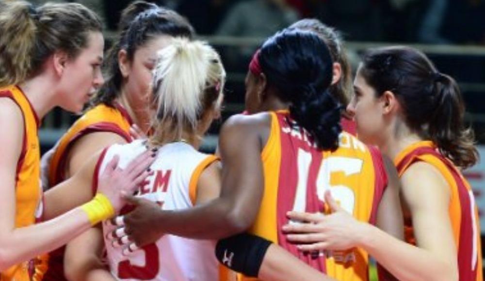 Galatasaray HDI Sigorta, deplasmanda Çanakkale Belediyespor'u 3-0 yendi