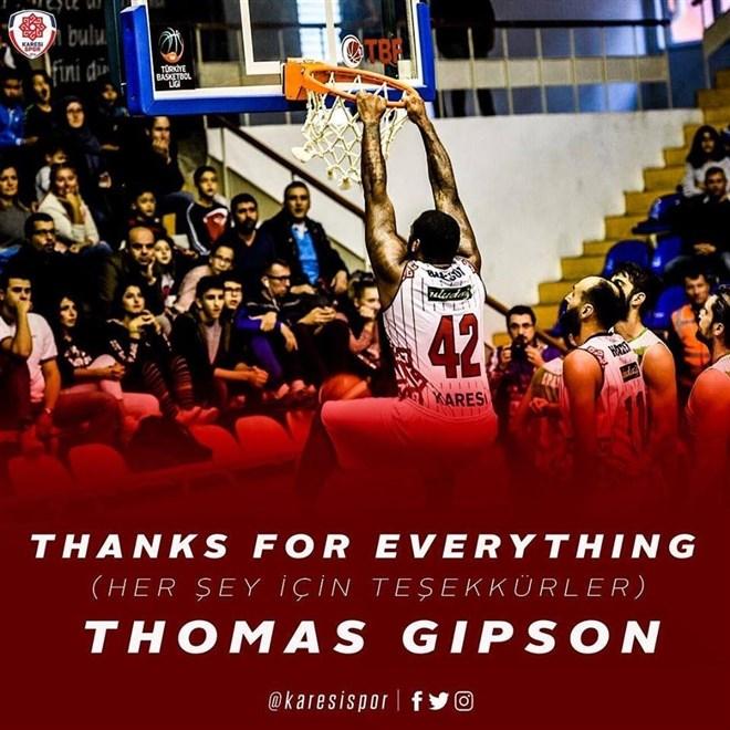 Karesispor'da Gibson ile yollar ayrıldı