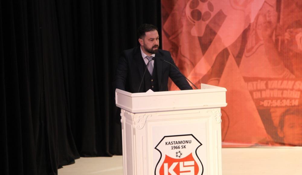 Kastamonuspor 1966'da Erkan Özcan başkan seçildi!