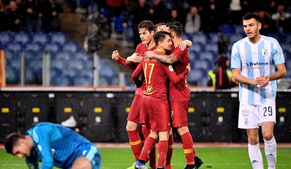 Cengizli Roma kupa maçında rahat kazandı