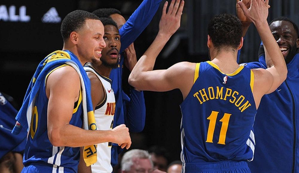 Warriors işi ilk çeyrekte bitirdi! NBA rekoru kırdılar...