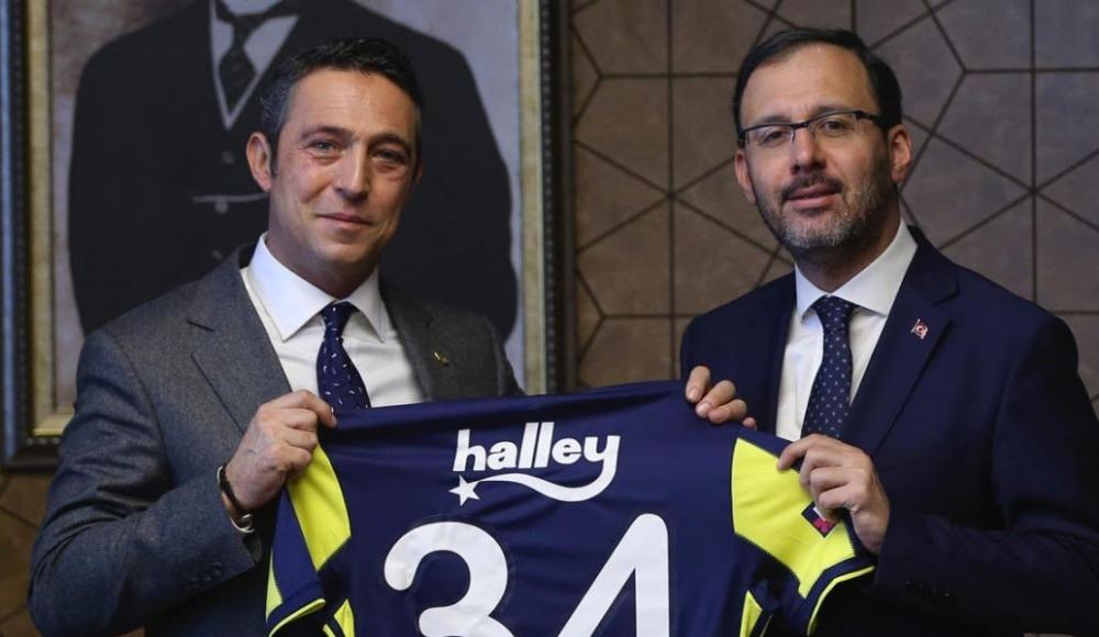Fenerbahçe'den bakanlara ziyaret
