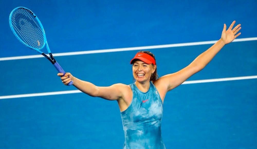 Son şampiyon Wozniacki'ye Sharapova engeli